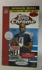 2006 Topps Chrome Factory Sealed Football Box
