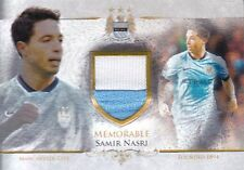 LIMITED FUTERA MAN CITY 2015 SAMIR NASRI JERSEY MEMORABLE MEMO MEM10 /50