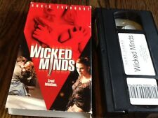 Wicked Minds (VHS, 2003) USED THRILLER ANGIE EVERHART FREE USA SHIPPING