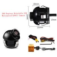 Car Blind Area Eyeball Back-up Camera Reverse Parking Monitor 360° Waterproof