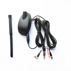 Car Roof Mount Aerials Stereo FM/AM Radio Tuner Amplifier GPS System DAB Antenna