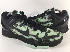 Nike Zoom Kobe 7 VII System Poison Dart Frog Black Green Mens Size 9.5 Rare