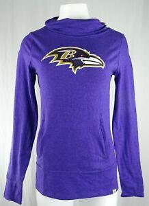 Baltimore Ravens NFL Majestic Women's Slouch Neck T-Shirt