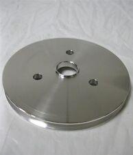 Small Block Chevy Swp Aluminum 1 Single Groove Crankshaft Pulley Sbc 350 Crank