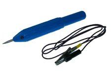 Durchgangsprüfer Stift - Prüf Fix mit LED und Kabel - Strom Prüfstift
