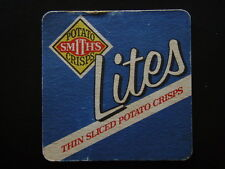 SMITH'S POTATO CRISPS LITES THIN SLICED CC'S YOU CAN'T SAY NO JUST SAY COASTER