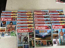 """"""" FOCUS """" ITALIA , Magazine, Edition  36 pics x 3.9$ each"""