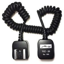 Metz TCC-20 TTL Cable for Nikon - Camera to Flashgun - New, unopened UK stock