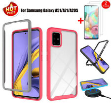 For Samsung Galaxy A51/A71/A20S Shockproof TPU Case Armor Cover+Screen Protector