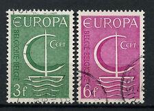 Belgium 1966 SG#1989-1990 Europa Used Set #A72738