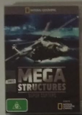 mega structured Super Copters DVD National Geographic R4 Australian Release