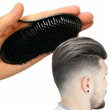1XPocket Travel Hair Comb Brush Men Beard Mustache Palm Scalp Massage Black