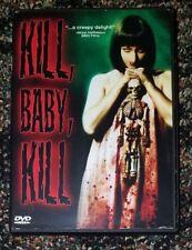 Kill Baby Kill (DVD, 2003)**MARIO BAVA HORROR***FREE SHIPPING***