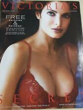 Victoria's Secret 1999 Holiday Stephanie Seymour sexy busty cover