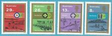 Großbritannien-Guernsey aus 1982 ** postfrisch MiNr.251-254 - Pfadfinder!