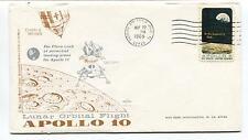 1969 Apollo 10 Lunar Orbital Flight Patrick Air Force Base Florida Space Cover