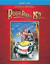 Who Framed Roger Rabbit 25 Th Anniver Blu Ray DVD Combo Region 1 Fre