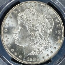 Dollar 1884-O PCGS MS64 Morgan Type United States USA Silver Coin BU UNC