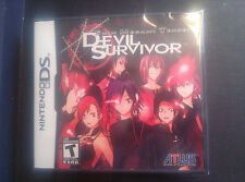 Shin Megami Tensei: Devil Survivor (Nintendo DS, 2009) Rare and out of Print