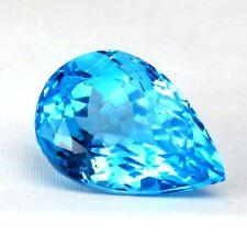 TOP BIG TOPAZ  : 34,96 Ct Natürlicher Swiss Blue Topas aus Brasilien