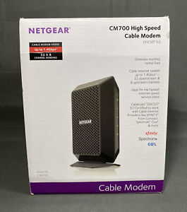 Netgear CM700 Cable Modem Excellent Used Condition Tested Works Xfinity COX Ect