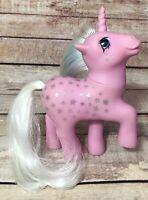 Vintage 1987 G1 Hasbro My Little Pony Milky Way Twice As Fancy Stars Unicorn