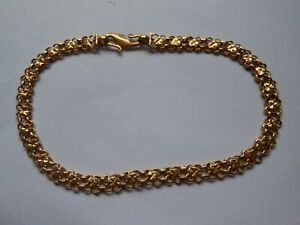 Ladies 22 Carat Gold Bracelet