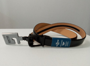 Kenneth Cole REACTION Men's Perfect Fit Adjustable Click Belt (Minimal Black, M)