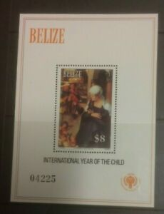 BELIZE 1980 INTERNATIONAL YEAR OF THE CHILD MS591a MNH