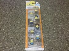 "8-pcs. MINIONS Gift Set #20160  1"" Tall New Sealed in Packaging"