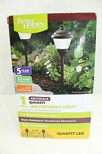 Better Homes and Gardens Archdale Outdoor QuickFIT LED pathway light