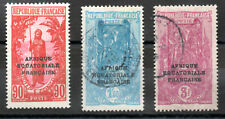 Timbres FRANCE COLONIE MOYEN CONGO N° YT 106/108 neuf*/obl. cote: 20,50€
