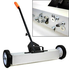"""36"""" Heavy Duty Magnetic Roller Sweeper Magnet Pick Up Tool 30LB Capacity Garage"""