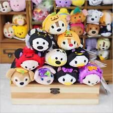 "10pcs Disney TSUM TSUM Halloween Set Mickey Donald-Mini Plush Doll toy 3.5"" 10cm"