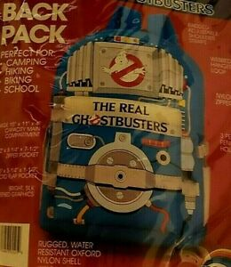 The Real Ghostbusters 1989 Vintage Proton Pack School Backpack (NOS) NEW! RARE!