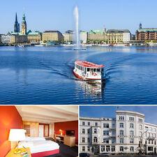 TOP Städtereise 4 Tage Hamburg Relexa Hotel Alster Super Lage Kurzurlaub Familie