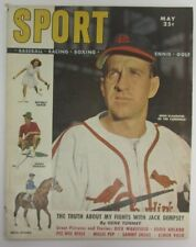 1949 Sport Magazine May Enos Slaughter Stl. Cardinals  on Cover NO LABEL 136161