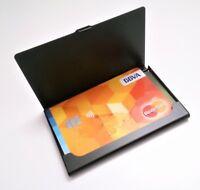 Tarjetero De Aluminio - Tarjetas Bancarias Y De Visita - DNI - Carnet Conducir