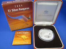 2004 RAM - $1 KANGAROO SILVER PROOF COIN - COMPLETE!!!