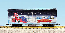 USA Trains G Scale R13034 2016 Christmas Reefer NEW RELEASE
