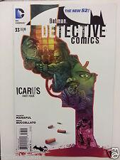 DETECTIVE COMICS ISSUE # 33. BATMAN. DC COMICS NEW 52.  SEPT. 2014.  NEW STOCK