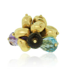 Marco Bicego 18k Yellow Gold Gemstone Cluster Ring