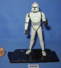 "Star Wars 2003 CLONE TROOPER Clone Wars Animated Series 3.75""  Figure #2"