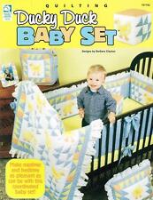 Ducky Duck Baby Set Quilt Patterns Paperback Book Quilt, Pillow, Diaper Bag -New