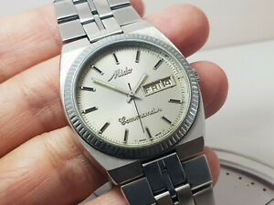 VINTAGE MIDO COMMANDER MODEL 8017-1 AUTOMATIC SWISS MADE WATCH ALL ORIGINAL.
