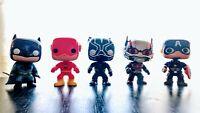 Super Hero Characters Vinyl Action Figures: Ant Man Batman Black Panther Flash