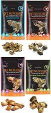 Pet Munchies Salmon Natural Dog Treats Healthy 100% Box of packets