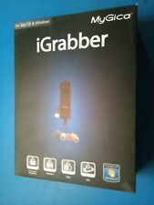 MyGica iGrabber VHS,DVD,Camcorder,V8,Hi8 convert to CD/DVD on PC