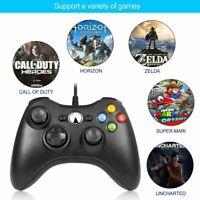 Wired Joypad Gamepad Controller For Microsoft Xbox 360 /PC Windows 7 8 10 XP PL