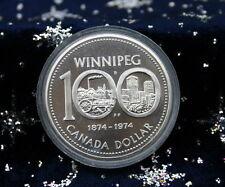 Canada - 1 Silver Dollar 1974